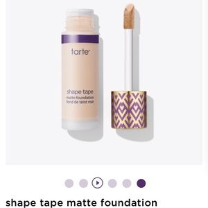 Tarte Shape Tape Foundation Matte -NEW